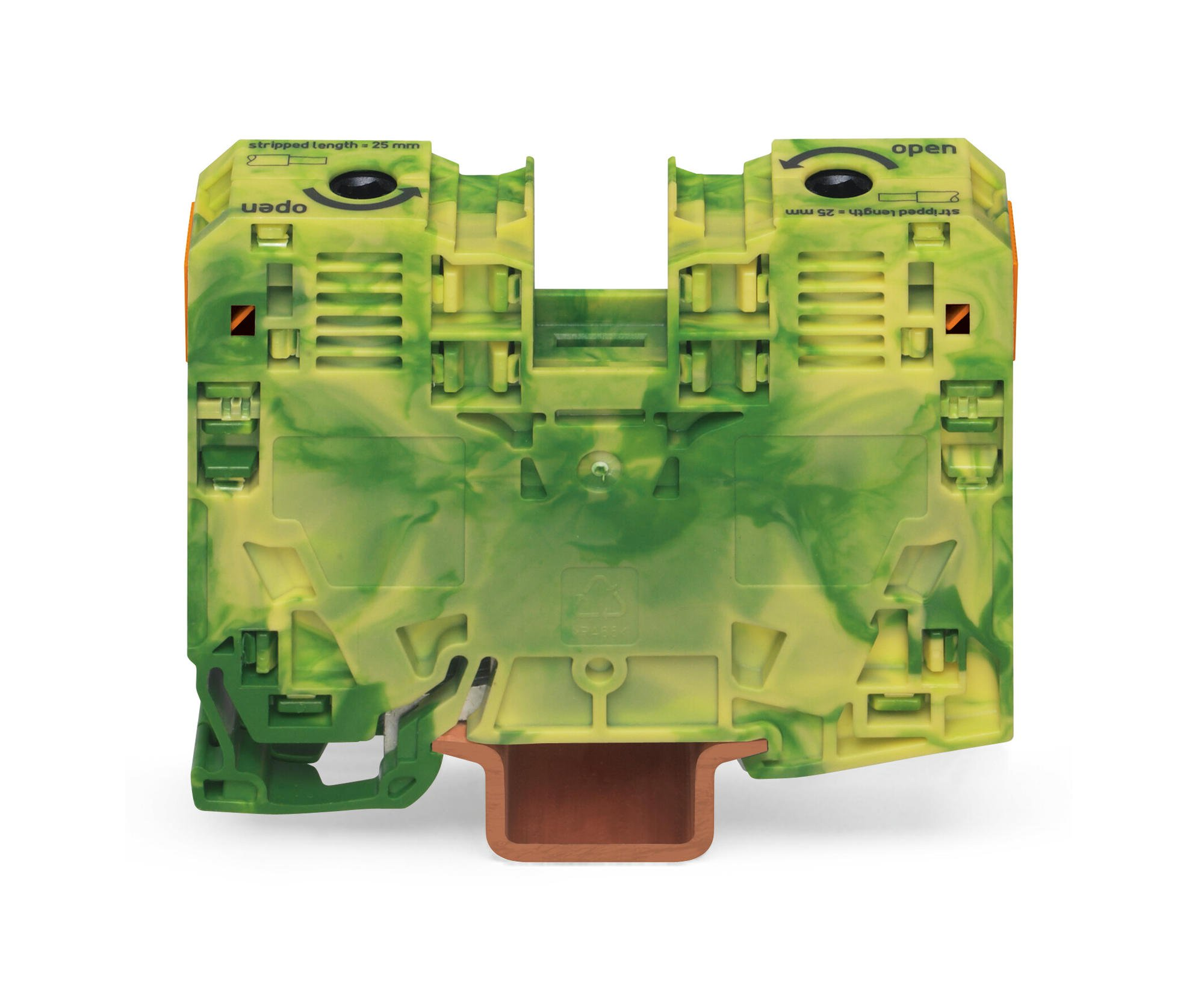 Wago 285 Series Power Cage Clamp Terminal Block