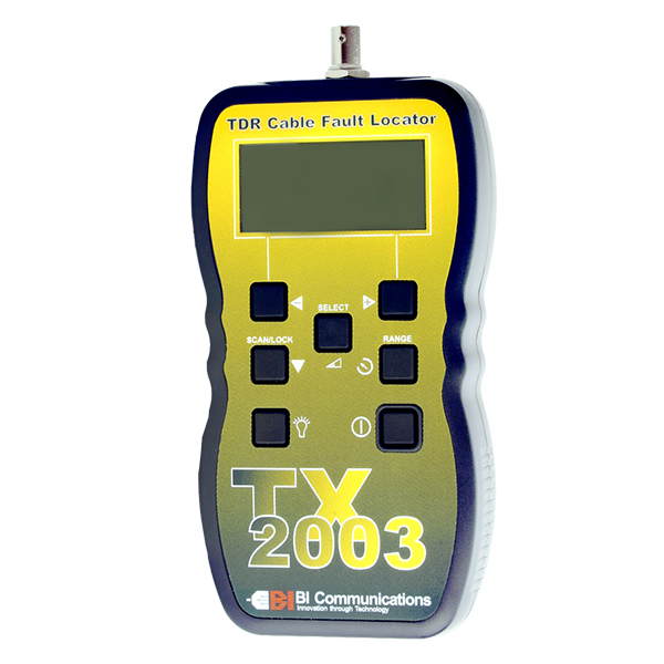 TX2003 TDR Cable Fault Locator