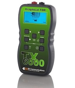 TX6000 Graphical Time Domain Reflectometer