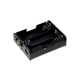 AA Battery Holders - Snap Terminal