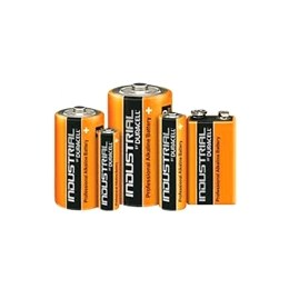 Duracell Industrial Alkaline Batteries