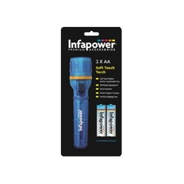 Infapower F020 Soft Touch Torch 2xAA