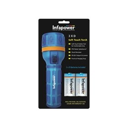 Infapower F020 Soft Touch Torch 2 x D