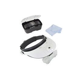 LC1766 Pro LED Headband Magnifier