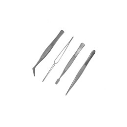 ModelCraft PTW5000 4pc Stainless Steel Tweezers