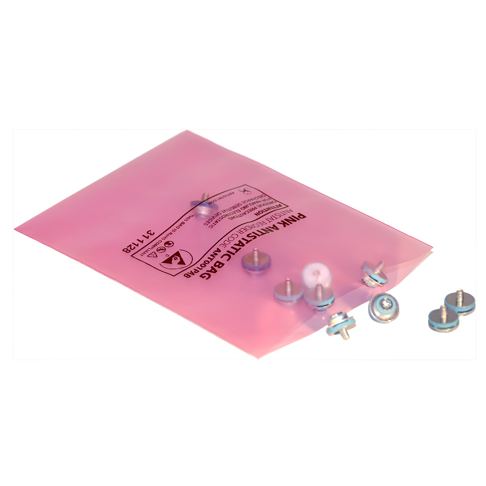 Pink Anti static Bag Pack of 100