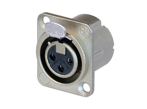 Neutrik NC3FD-LX 3 Pole Receptacle