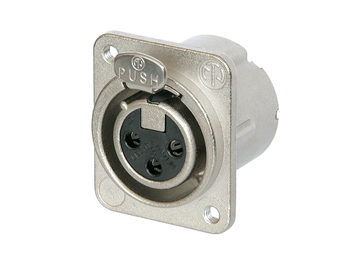 Neutrik NC3FD-LX-M3 Female Receptacle
