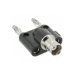 Mueller BU-00260 BNC Female to Double Banana Plug