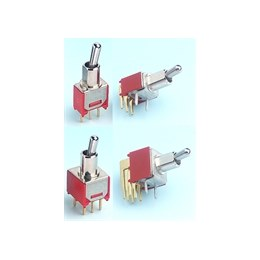 Salecom TS40-T Subminiature PCB Toggle Switch