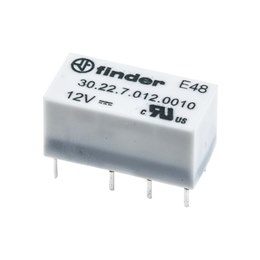 Finder 30.22 Relays DPDT 1.25A High Sensitivity