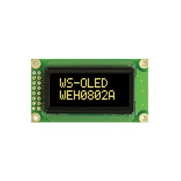 8 x 2 OLED Display