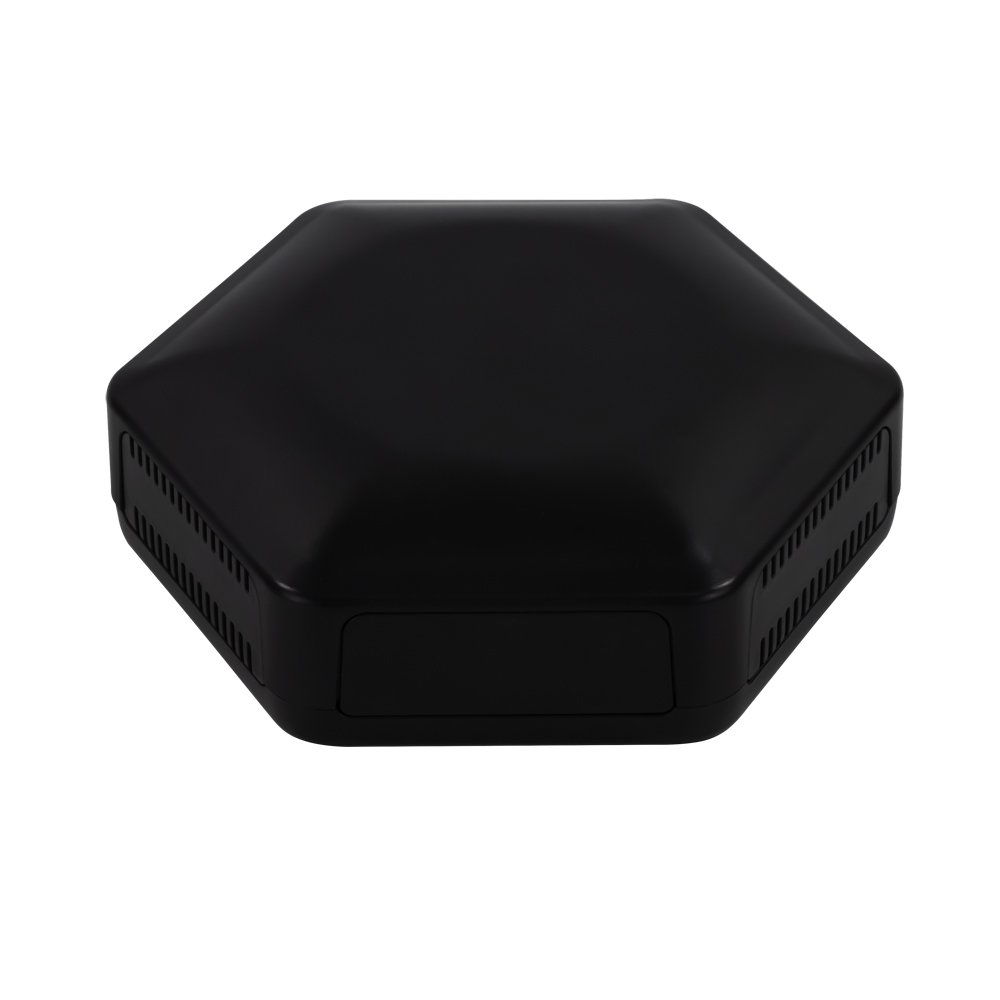 CBHEX1 Hex-Box IoT Black Enclosures