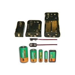Batteries, Holders & Chargers