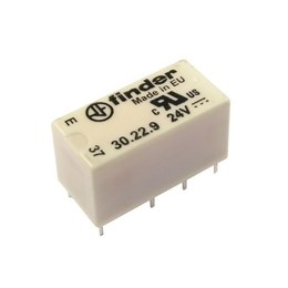 Finder 30.22 Relays DPDT 1.25A BT47W/6