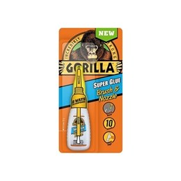 Gorilla Glue Brush & Nozzle Super Glue 12g