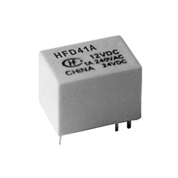 Hongfa Sub-miniature DIL Relays HFD41A