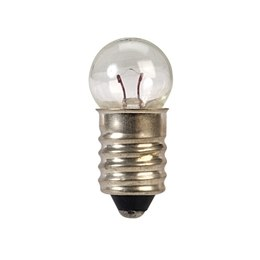 MES Bulbs 11 mm Round E10 Screw