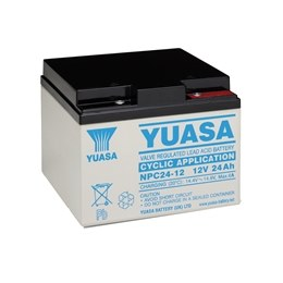 Yuasa NPC Series Cyclic Sealed Lead Acid Battery
