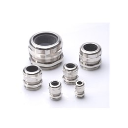 Nickel Plated Metric Brass Cable Glands IP68