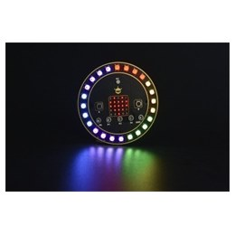ROB0150 micro:bit Circular RGB LED Expansion Board