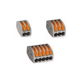 WAGO 222 Series Spring Connector 300V 32A