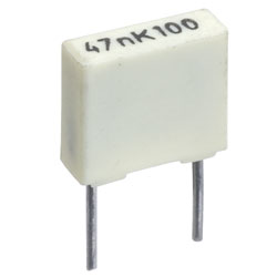 R82 Metallised Polyester Film Capacitor 5mm