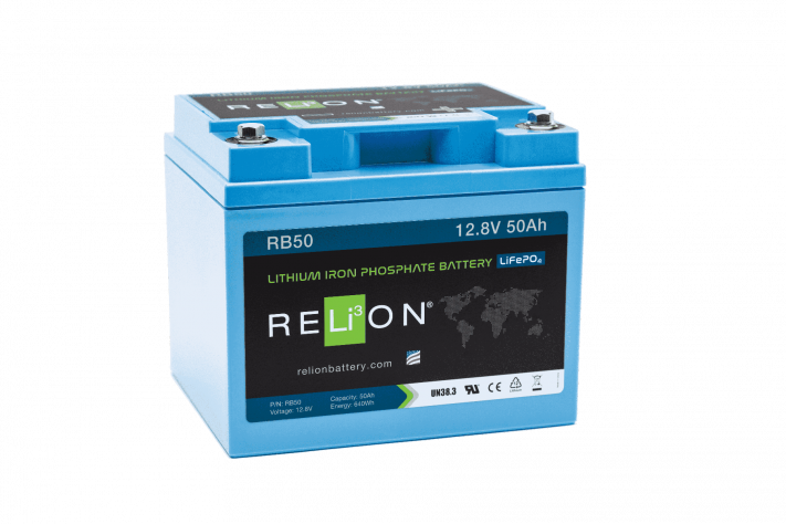 RELi³ON  RB Lithium Iron Phosphate 12V Batteries