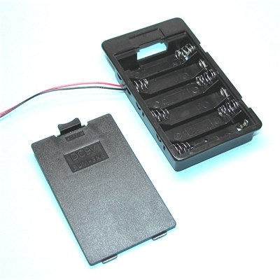 Comfortable, SBH-361A, AA x 6 Battery Box