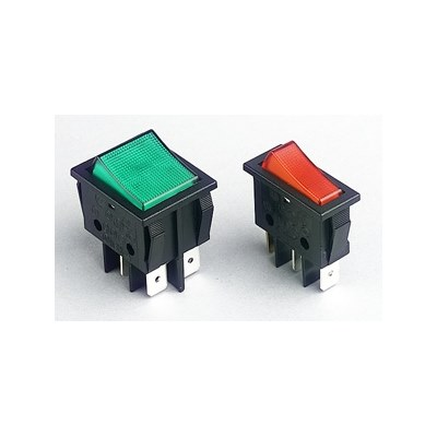 Everel Illuminated Rocker Switches B1 & B4 Series