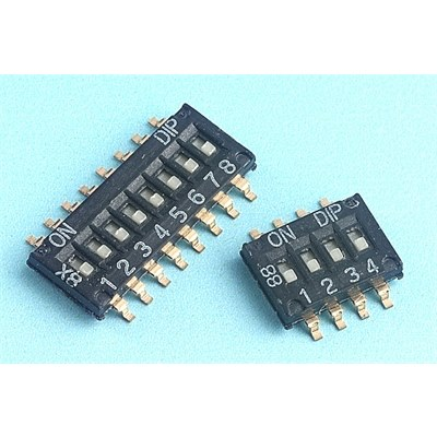 Diptronics NHDS Half-pitch SMD DIL switches