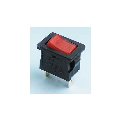 Everel A1 Miniature Illuminated Rocker Switches