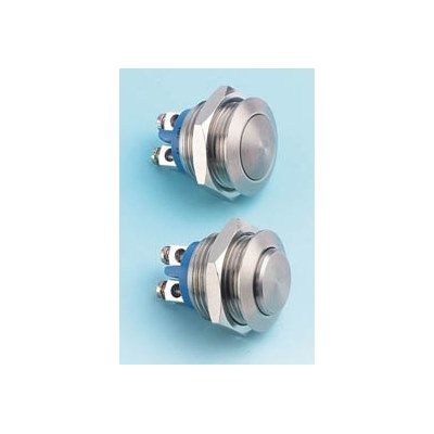 Vandal Resistant 16mm switch - IP65 sealed