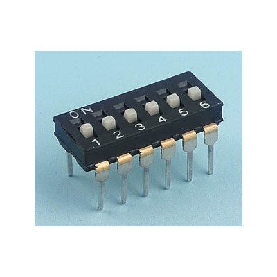 DIL Switches - Diptronics NDI Low Profile series
