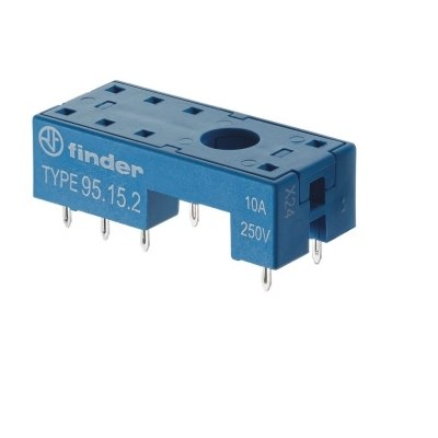 Finder 40 Series PCB Mounting Relay Sockets