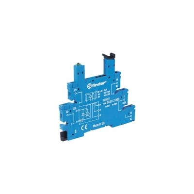 Finder 34 Series PCB Mounting Relay Socket