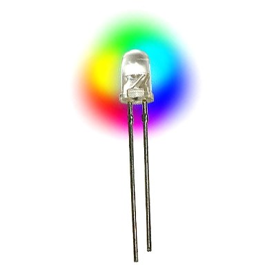 Tek Opto 5mm Rainbow Cycling LEDs