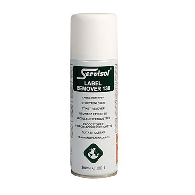 Servisol 6100016000 Label Remover 130 200ml