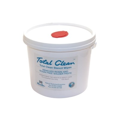 Total Clean Stencil Wipes