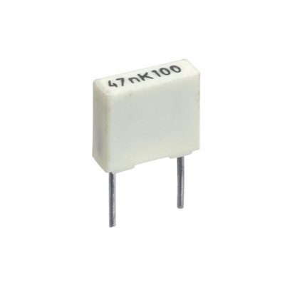 Lot of 10 Pieces x Capacitor Polyester 100nf 63v