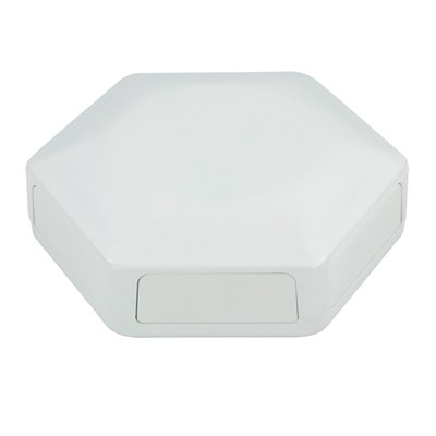 CBHEX1-60-WH 6 x Solid Panel White Enclosure